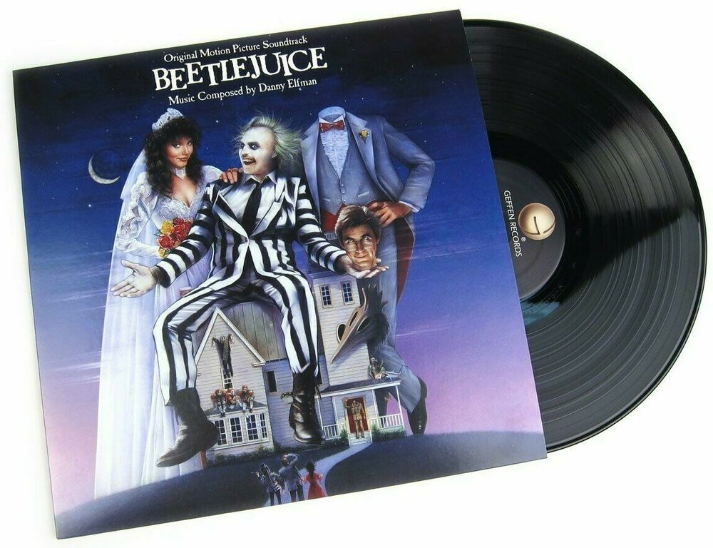 Beetlejuice Soundtrack Danny Elfman In Shrink Lp Vinyl Record Album Capitolcollectibles Com Stores Ebay Com C Vinyl Record Album Vinyl Records Record Album