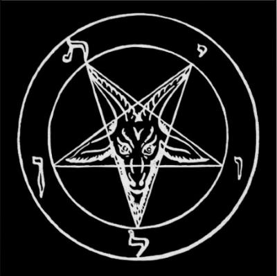Inverted Pentagram Of Baphomet Okkulte Symbole Satanische Kunst Pentagramm Tattoo