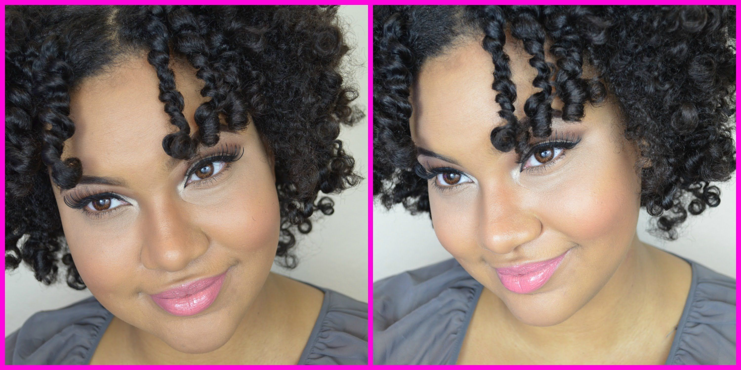 How To The 3 Strand Twist Out 4a Natural Hair Tutorial YouTube
