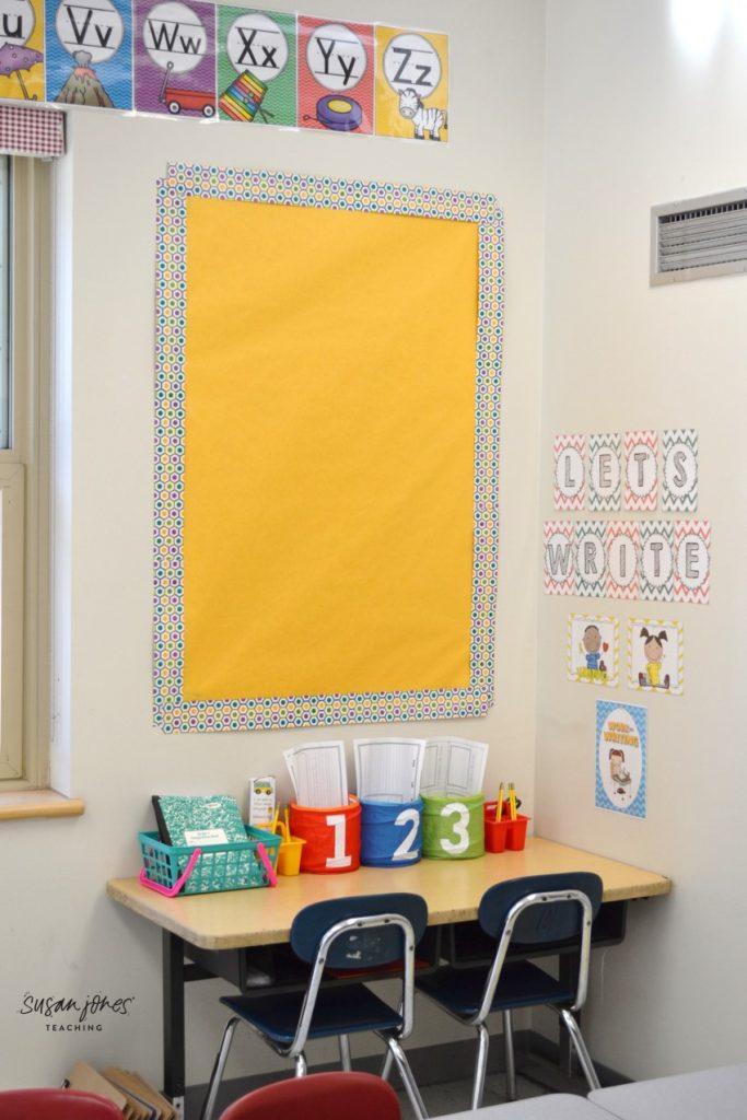 First Grade Classroom Setup and Dec…