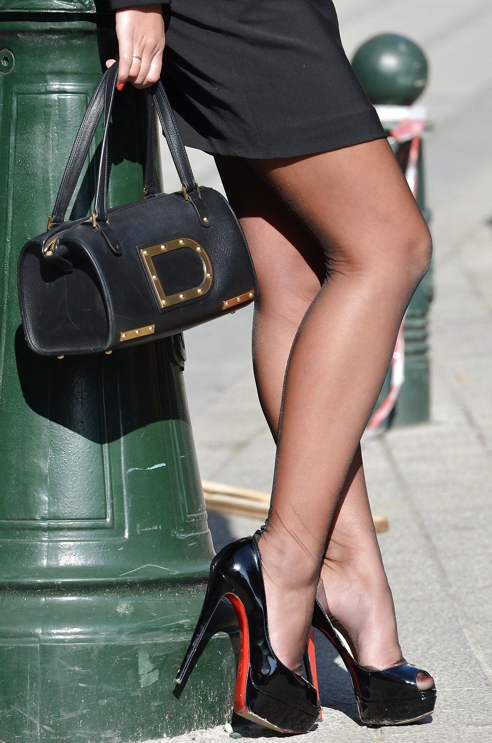 Sexy high heels porno