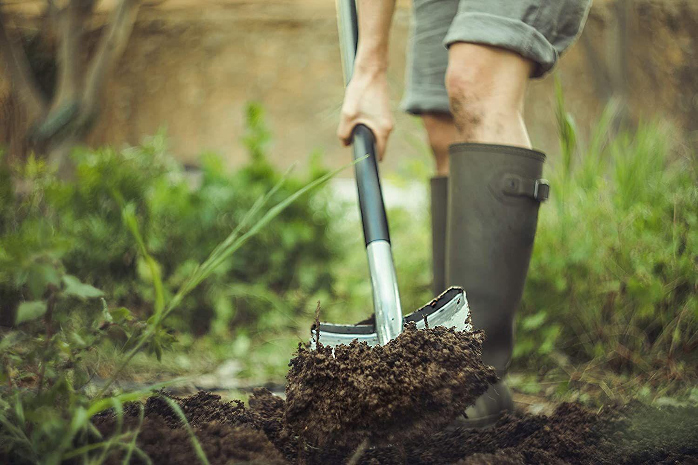 Fiskars Gartnerspaten Fur Harte Steinige Boden Spitz Der Pate Gartenhelfer Spaten