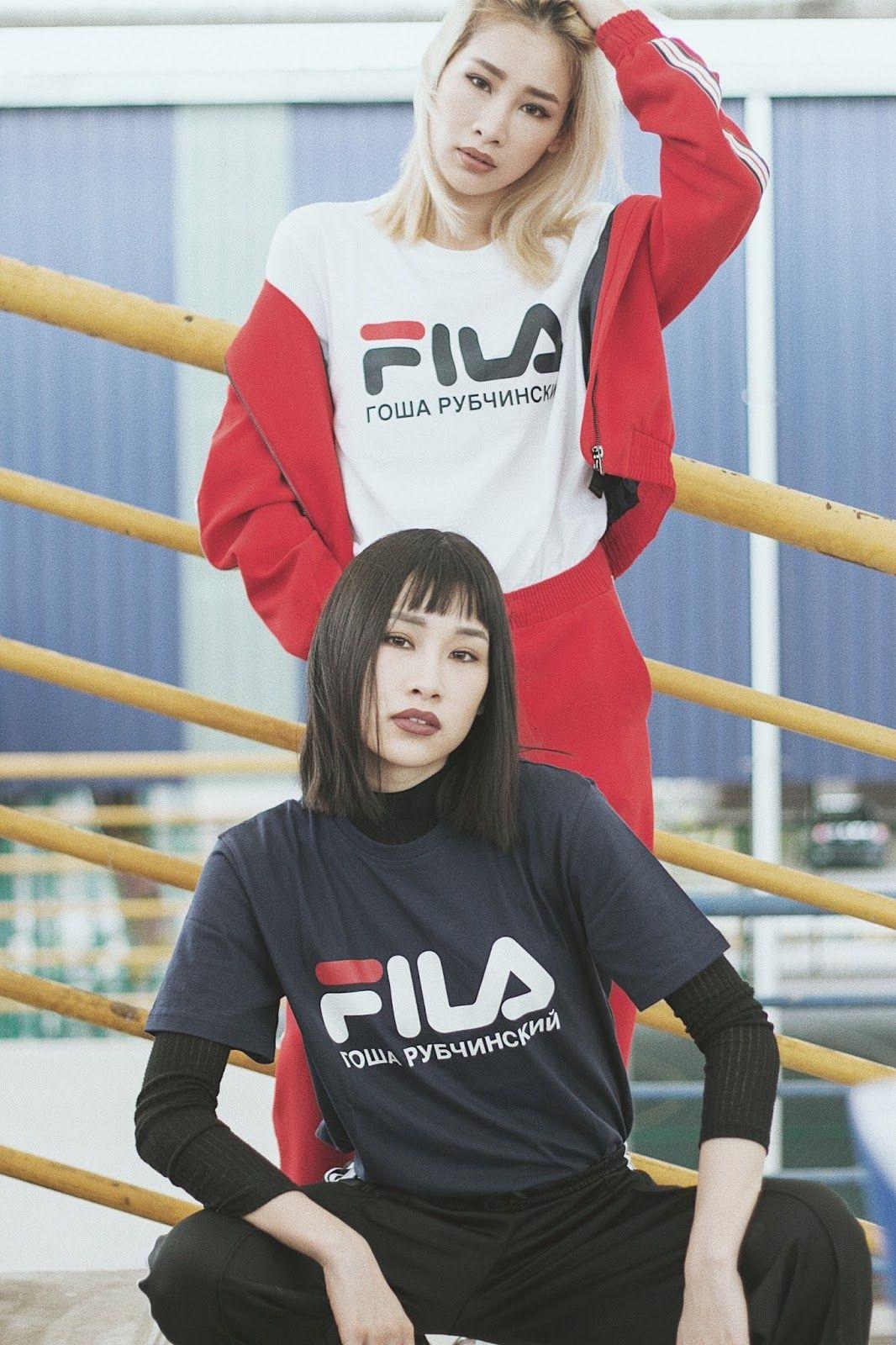OUR DAY WITH GOSHA RUBCHINSKIY X FILA | Duo Gigs
