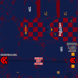 F C Barcelona Kits 2019 20 Dls20 Kits In 2020 Goalkeeper Kits Barcelona Third Kit Soccer Kits