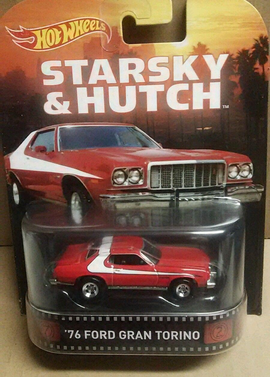 Hot Wheels Retro Exclusive 76 Ford Gran Torino Starsky Hutch New In Stock |  EBay