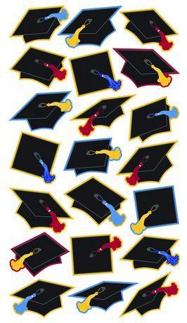 Sticko Stickers Grad Caps $3.00