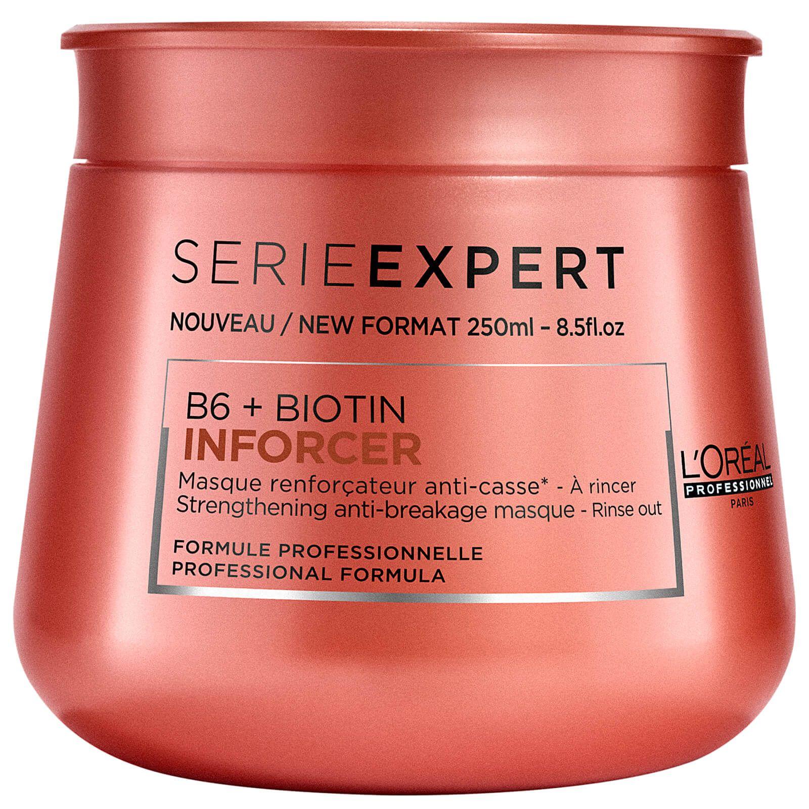 Loreal Inforcer Masque Biotin, Hair breakage, Stop hair