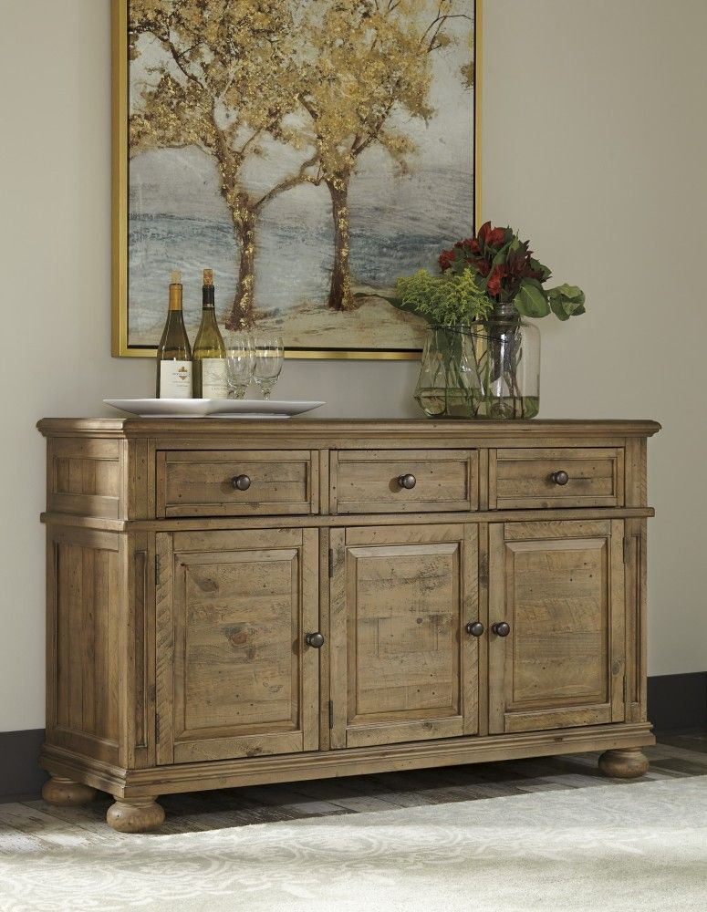 Trishley   Light Brown   Dining Room Server