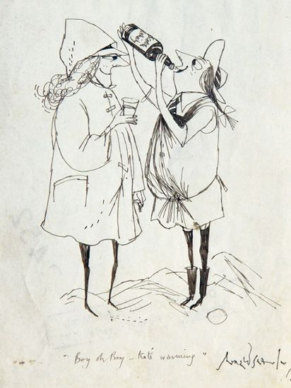 Image result for ronald searle st Trinian's