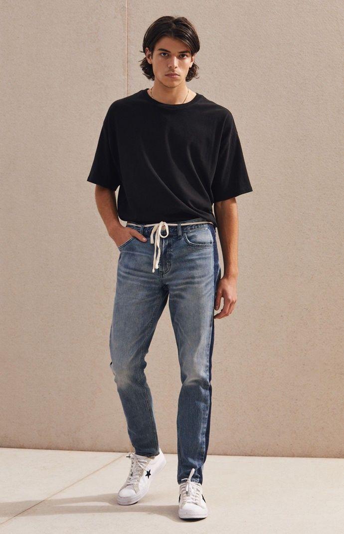 Pacsun Skinny Side Stripe Medium Jeans 29W X 30L in 2019