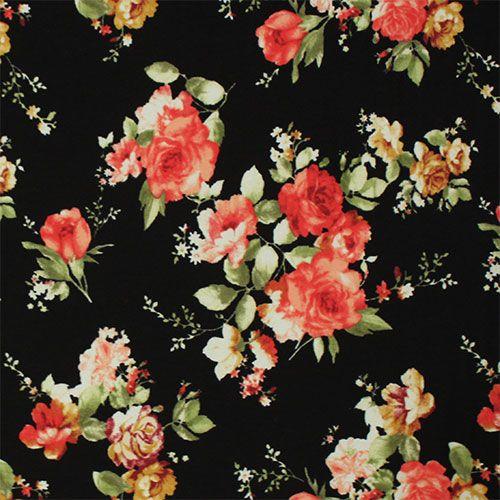 Fabric Vintage Rose 39
