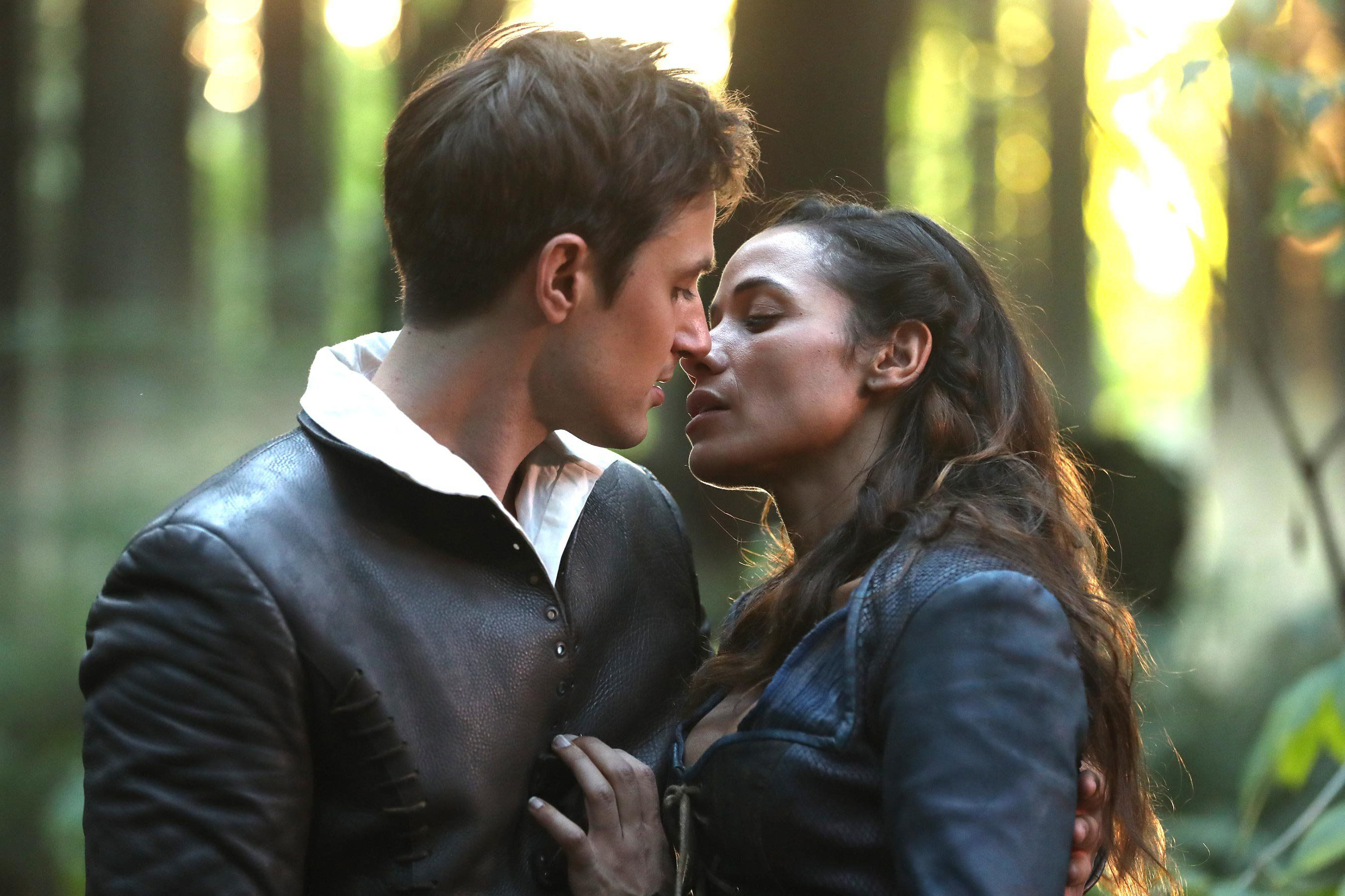 Once Upon A Time Stars Andrew J West And Dania Ramirez Tease