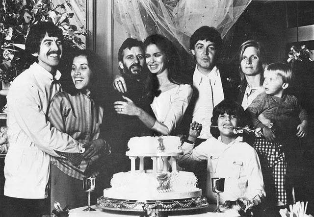 Paul Linda McCartney Wedding   Linda McCartney Paul and Linda at Ringo's wedding
