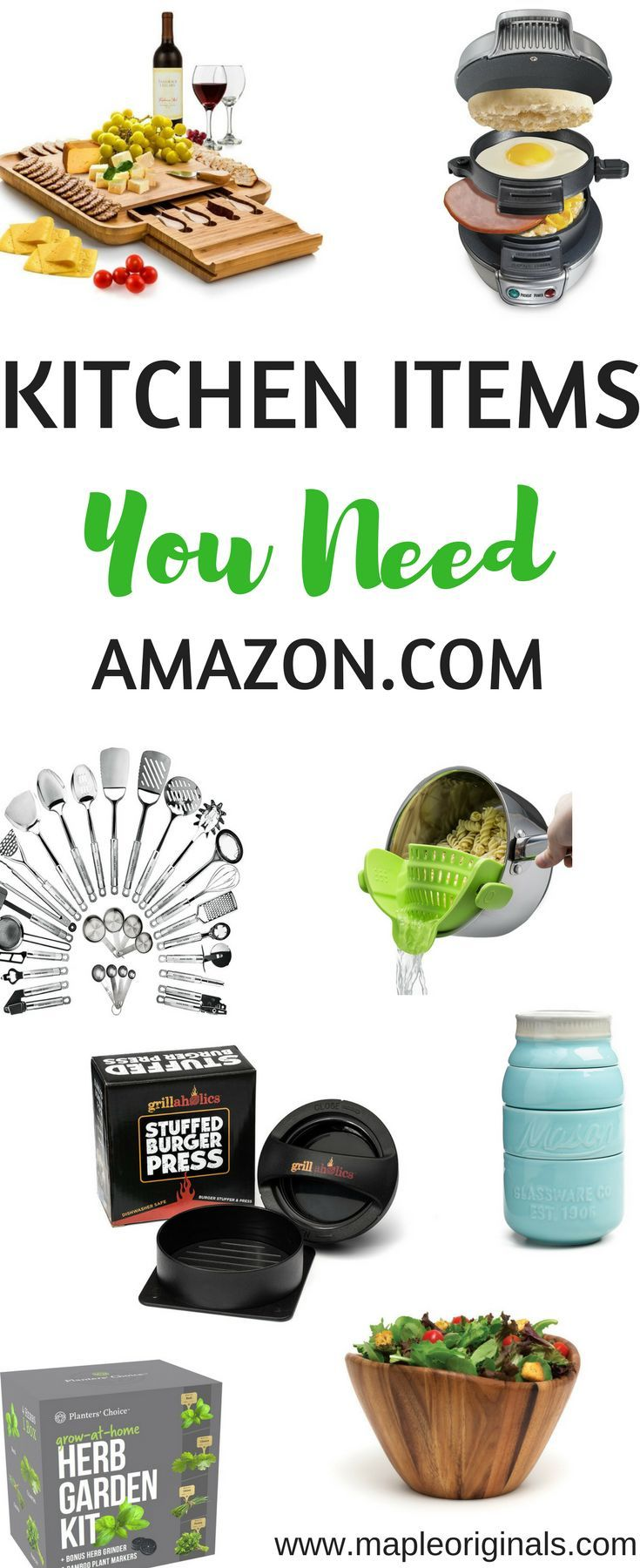 Awesome Kitchen Items You Will Love! Here is a list of some great ...