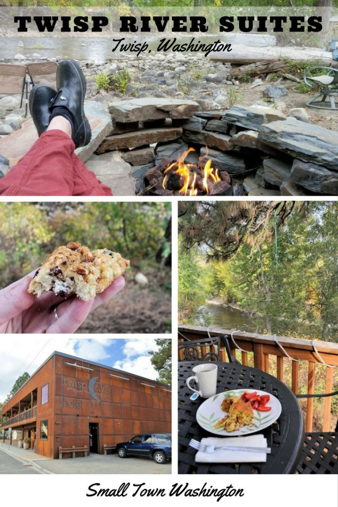 Riverside Getaway at Twisp River Suites Small towns