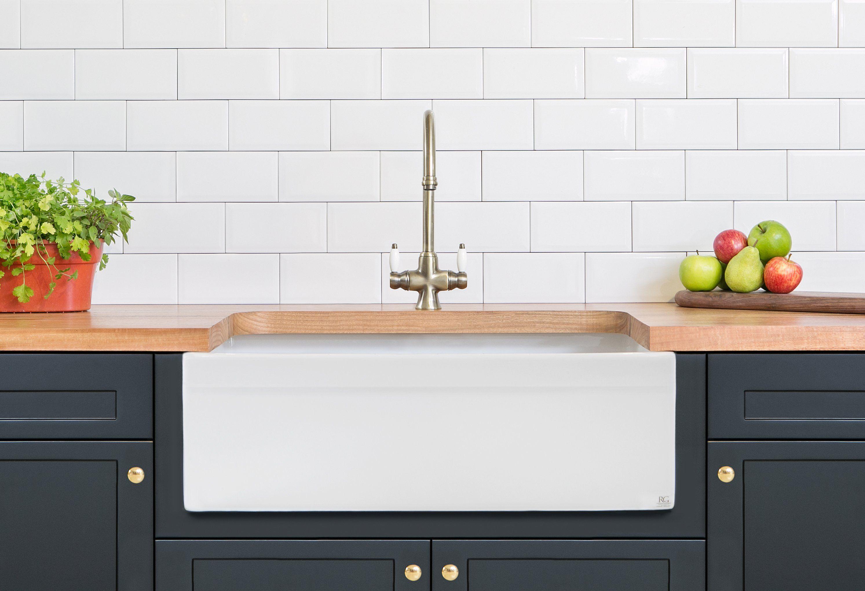 Country Sink 30 20 10 Barn Sink Farmhouse Sink Kitchen Butler Sink
