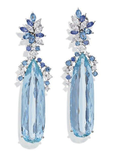 Pin By Gia On Aquamarine Gemstone And Jewelry Aquamarine Jewelry Beautiful Jewelry Jewelery