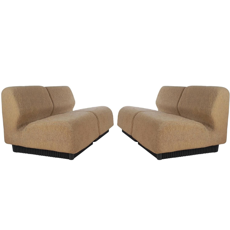 Mid Century Modern Don Chadwick Modular or Sectional Sofa Set for