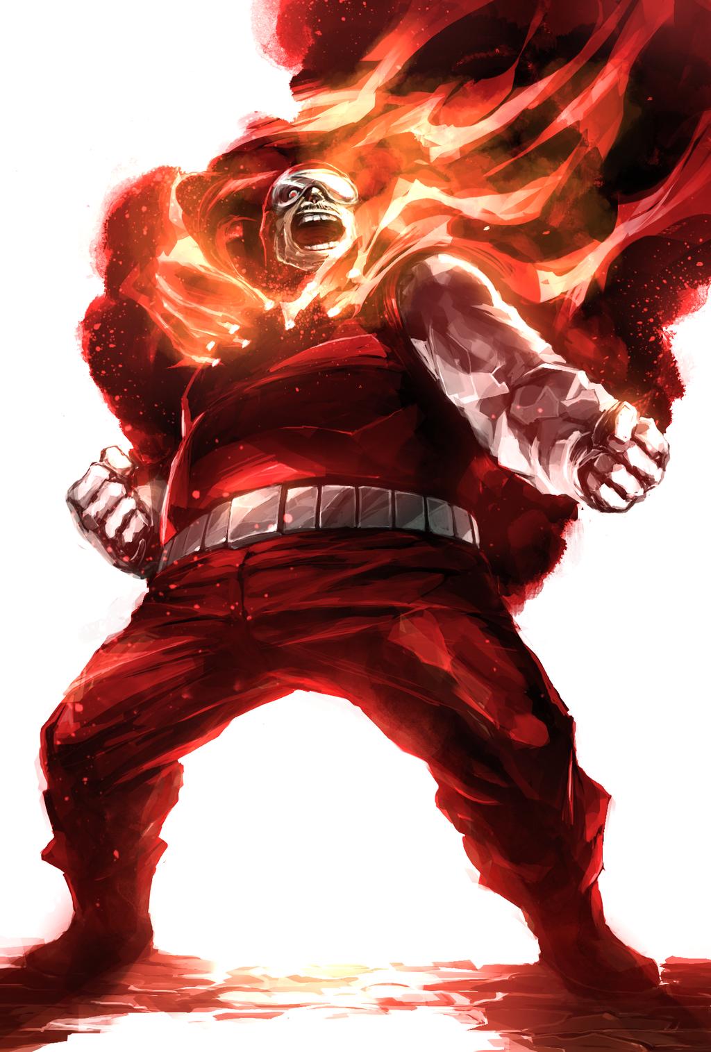 Human Flame by naratani.deviantart.com on @DeviantArt