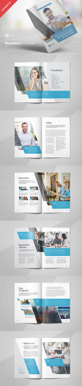 Business Brochure Vol.2 Template INDD, PDF