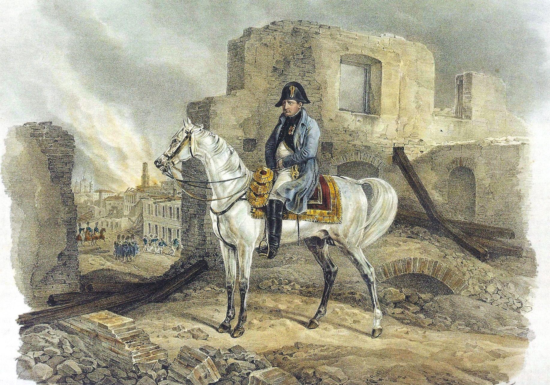 Наполеон в москве картинка