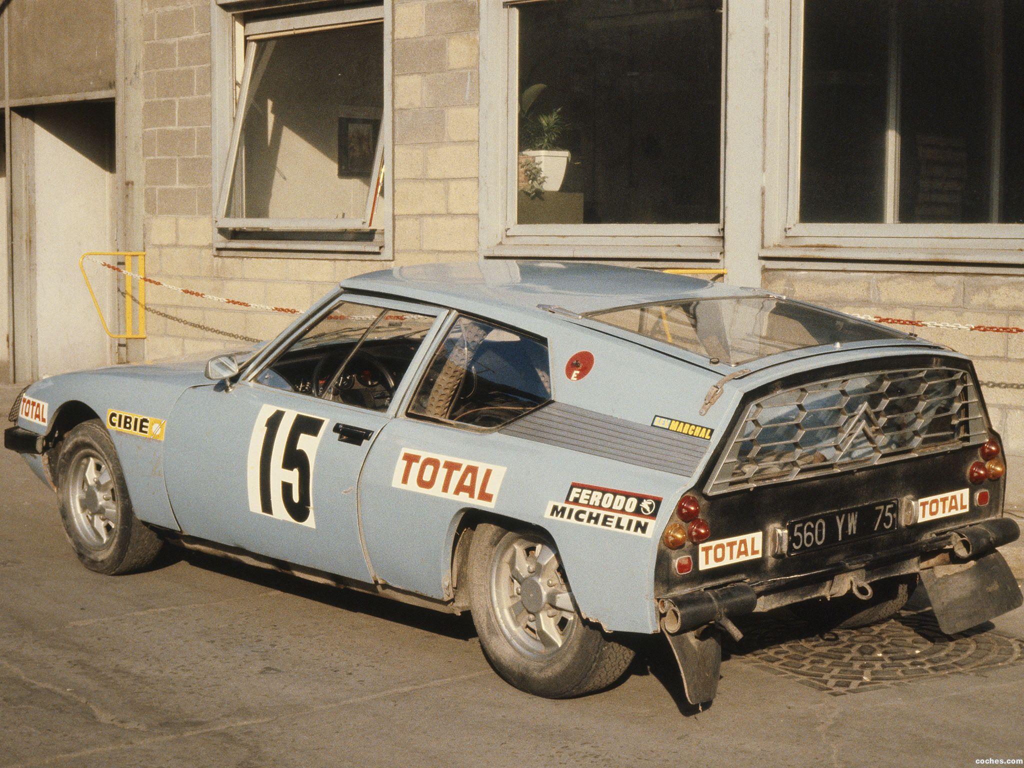1973 Citroen SM prototype shortened