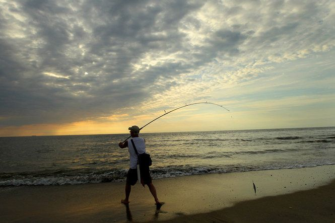 Surf Fishing At Sandy Hook Nj Surf Fishing Pinterest Surf