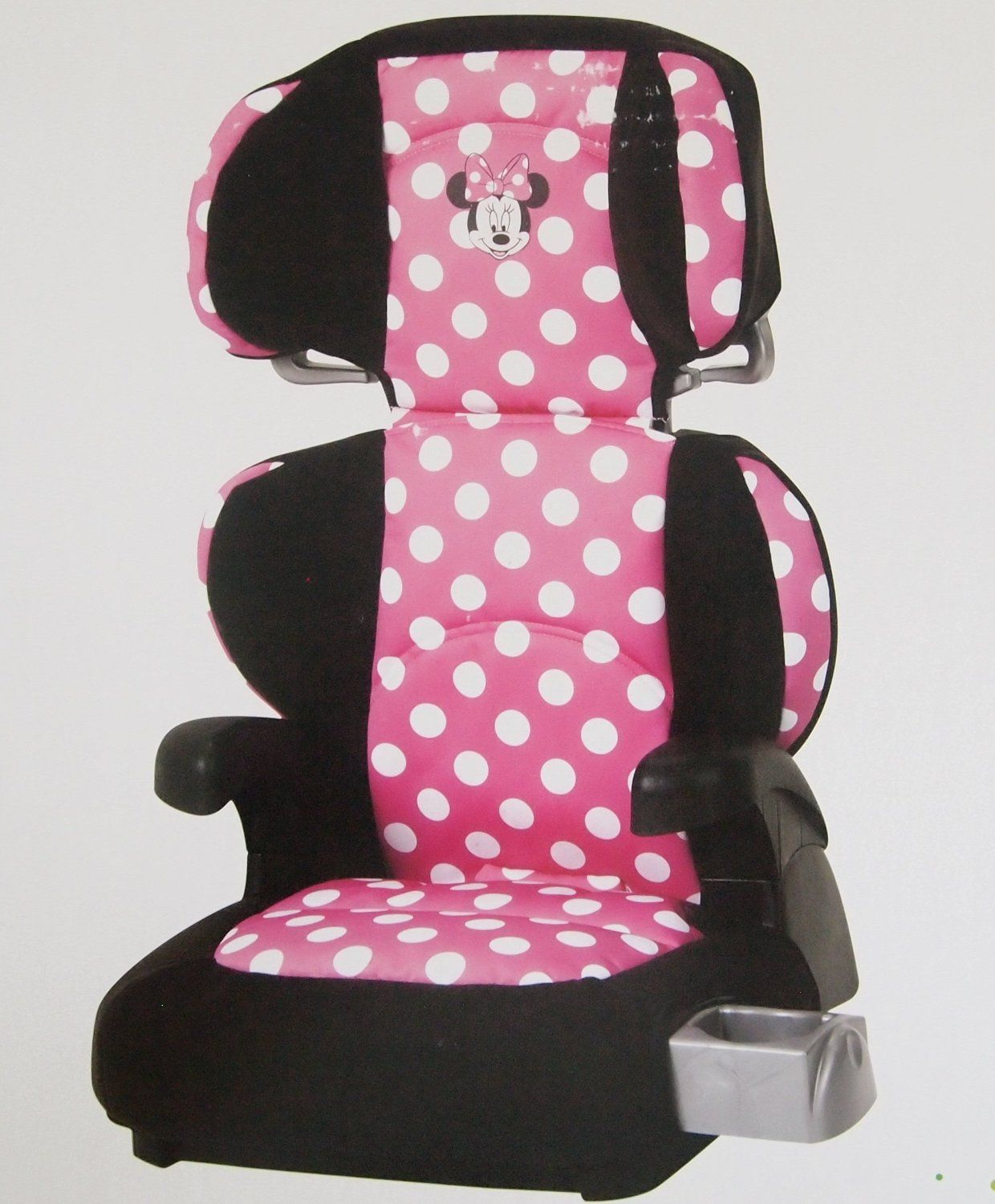 disney minnie mouse booster car seat car accessories pinterest disney cars and mice. Black Bedroom Furniture Sets. Home Design Ideas