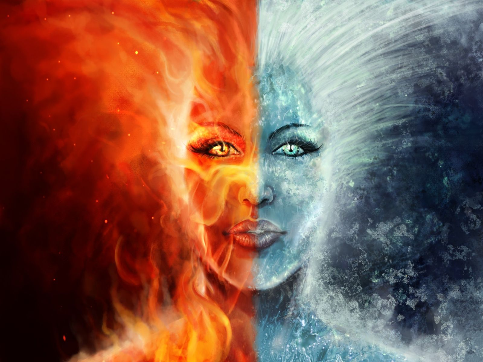 Crps Fire And Ice Fire And Ice Wallpaper Fire And Ice Weather Art