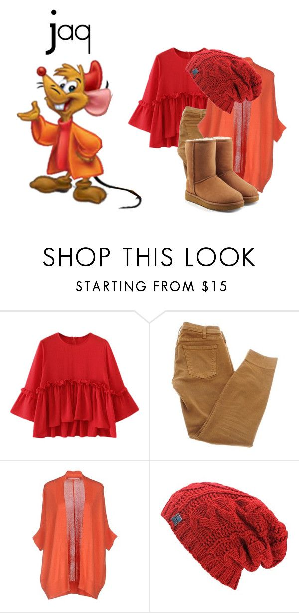 """Jaq"" by mjbol ❤ liked on Polyvore featuring Current/Elliott, Xandres and UGG"