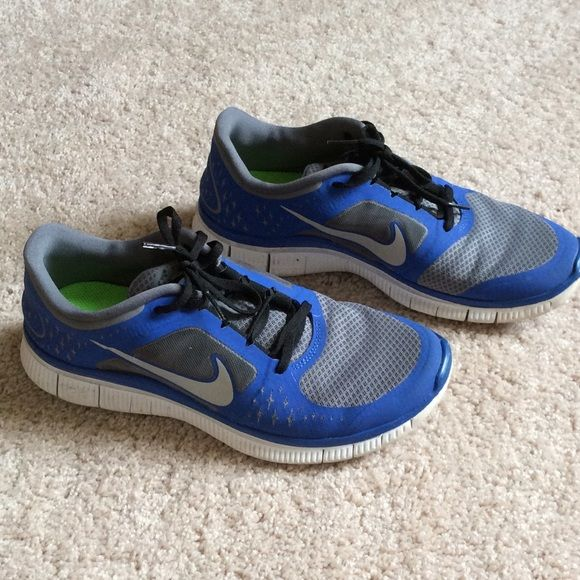 Nike Shoes Sneakers Men Size 10 Blue Color Great Condition