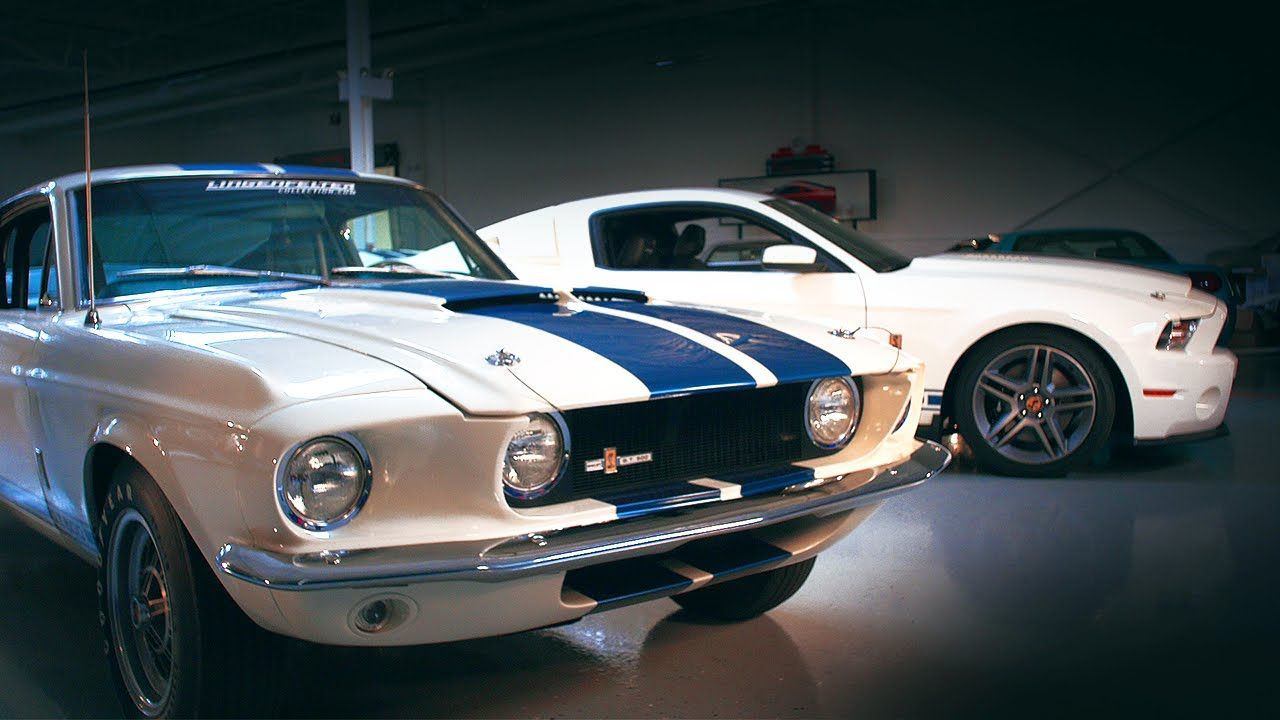 1967 Shelby GT500 vs. 2010 Shelby GT500 Patriot Edition - Generation Gap...