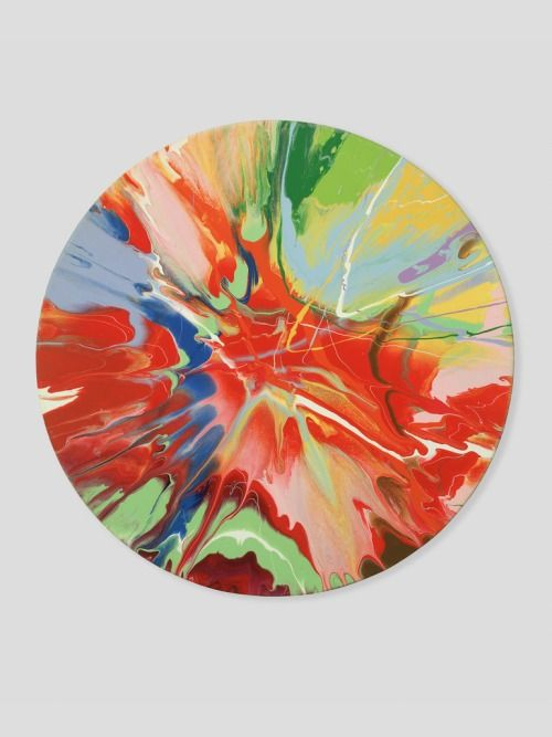Damien Hirst- Spin Paintings | Spin Art | Pinterest | Damien hirst ...