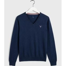 Photo of Gant V-Neck Sweater (Blau) Gant