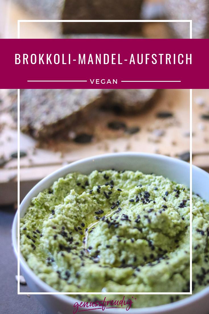 Brokkoli-Mandel-Aufstrich - genussfreudig