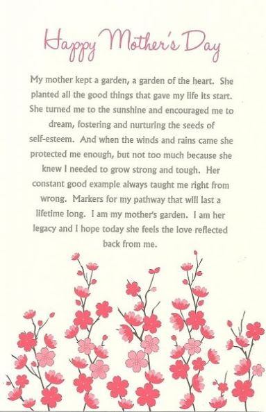 Mari Rodriguez Google Mothers Day Poems Mother S Day In Heaven Happy Mother Day Quotes
