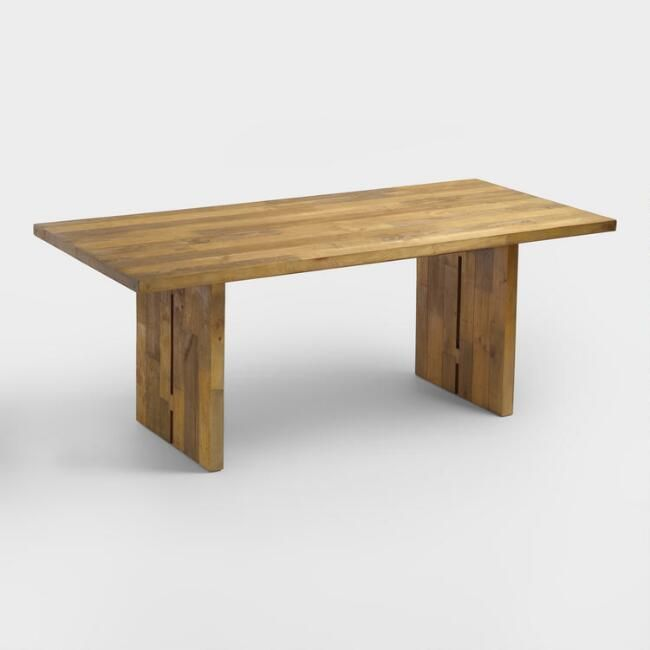 Crafted Of Reclaimed Pine Wood Pallets Each Of Our Nolan Dining