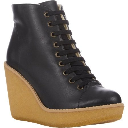 Stella McCartney Wedge-Heel Ankle Boots at Barneys.com