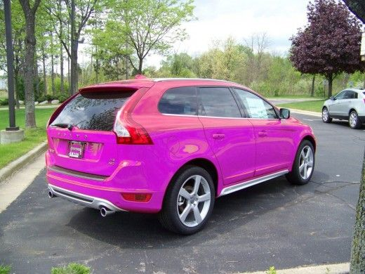 Pink Volvo XC60 | Crazy Colors