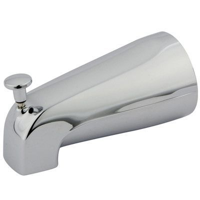 Kingston Brass Made to Match  Zinc Diverter Tub Spout Finish: