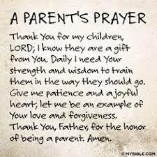 words of encouragement for parents of sick child Google