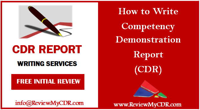 Competency demonstration report writing service