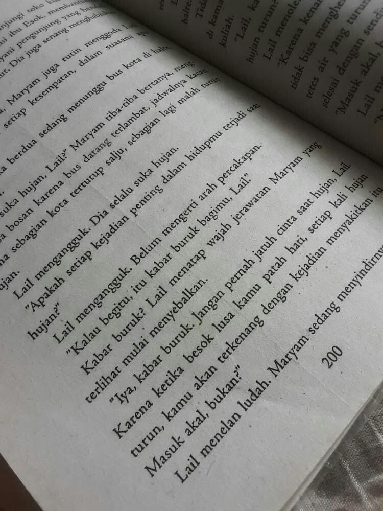 Tere Liye Hujan Quotes : hujan, quotes, Kutipan, Novel, Novel,, Hujan,