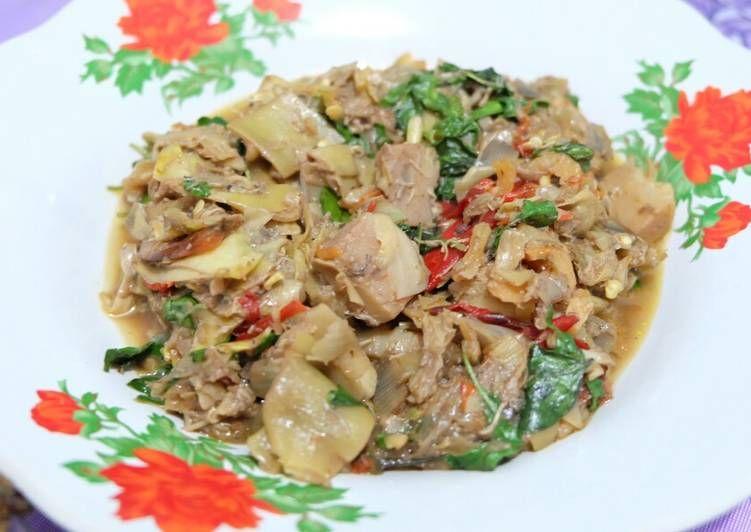 Resep Sambal Jantung Pisang Oleh Yeni Tirtasiwi Resep Makanan Makanan Dan Minuman Resep