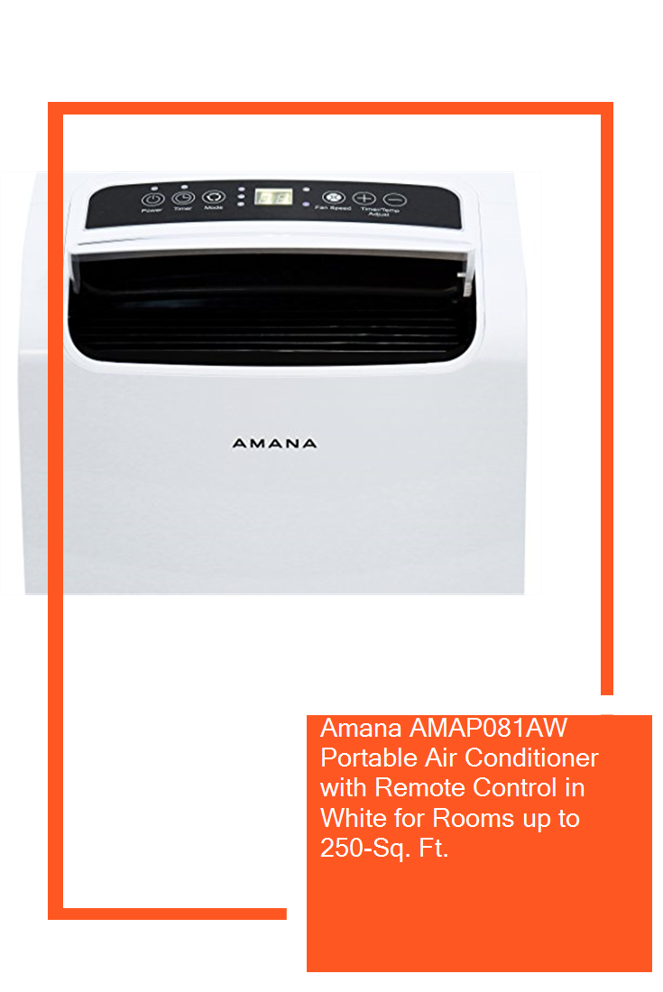 Amana AMAP081AW Portable Air Conditioner with Remote