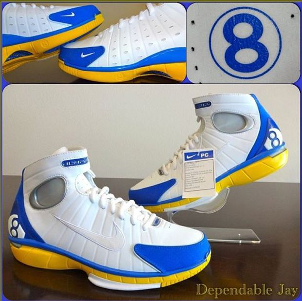 new product 71672 f68e3 ... closeout nike zoom huarache 2k4 kobe bryant pe sample 43365 62a25