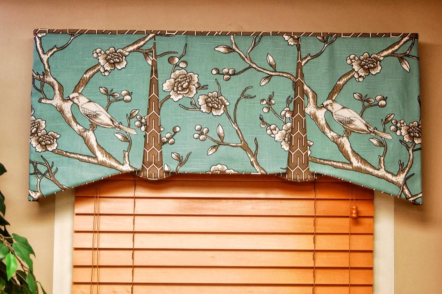 High Quality Tailored Valances For Living Room