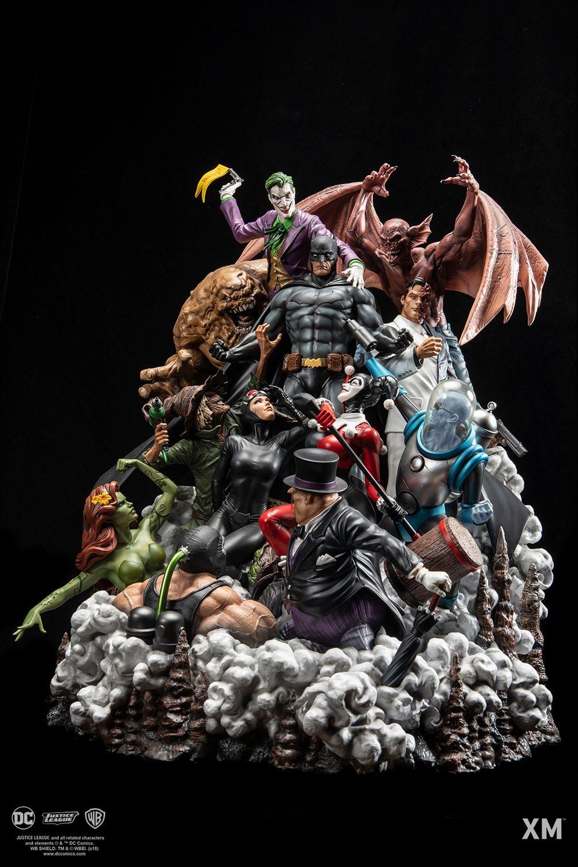 Xm Batman Sanity Color Version 1 6 Epic Diorama Series Goes