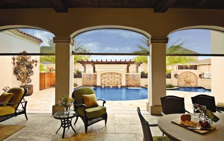 Enjoy Fresh Air Without Letting In Dust Or Insects. Custom Retractable  Screens For Patios,