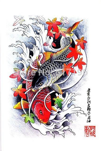 Format Pdf Buku Tato 60 Halaman Yang Indah Ikan Koi Bunga Tato